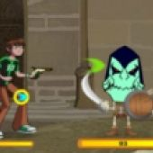Ben 10 Omniverse Khyber Fight