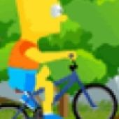Bart Simpson Bicycle Game