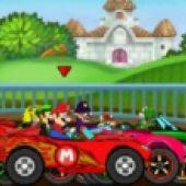 Mario Car Race
