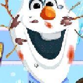 Messy Frozen Olaf