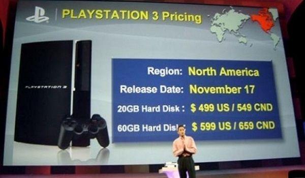 PlayStation 3 por 600 dólares