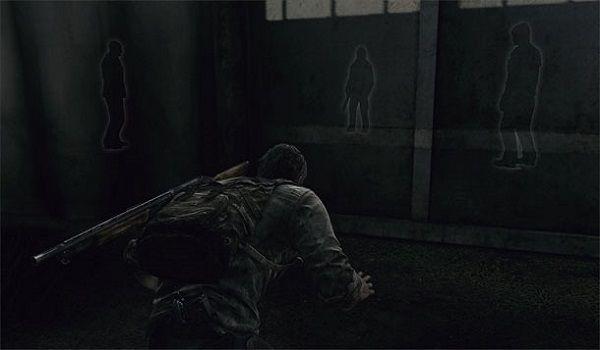 Inimigos Patrulhando em The Last of Us