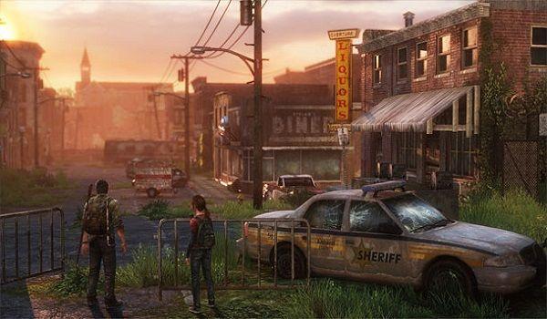 Nova área em The Last of Us