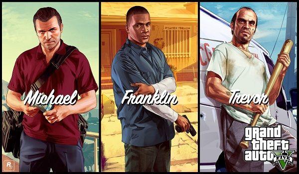 Personagens de GTA V